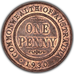 Finest Known 1930 Penny